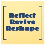 Reflect - Revive - Reshape postcard image