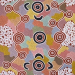 'Kunnnby' - Bush Lolly Dreaming,  Michael Nelson Tjakamarra,  Acrylic on Canvas