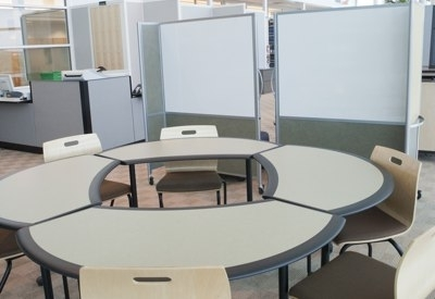 Image of a study space at Frey