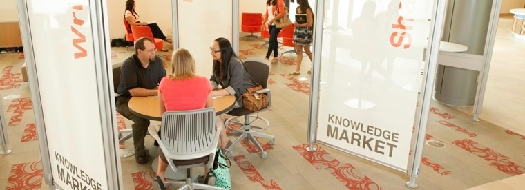 Knowledge Market at GVSU