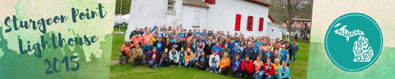 2015 Sturgeon Point Lighthouse Group Photo