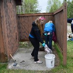 Sturgeon Point Clean-up 2015