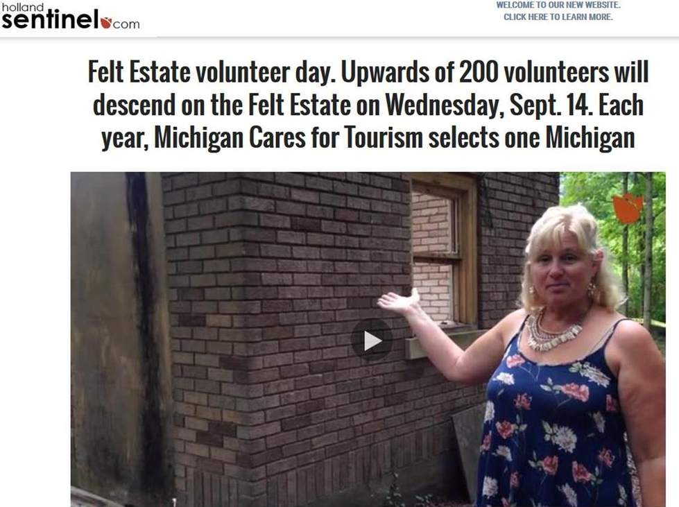 Felt Estate Volunteer Day