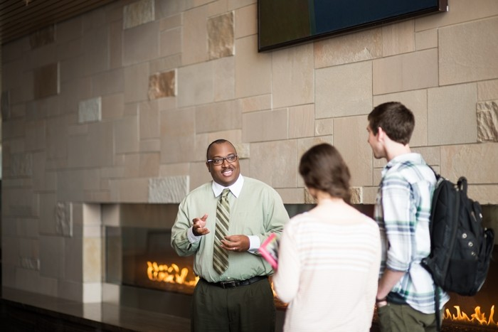 Faculty member Dwayne Tunstall is a shining example of our first-rate faculty at GVSU.