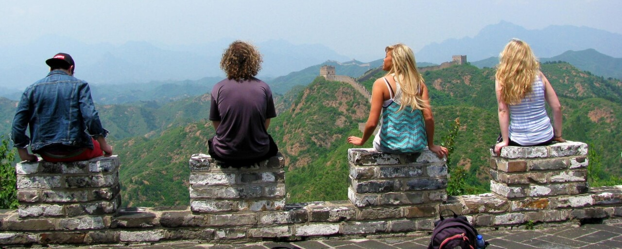 Students study abroad in china