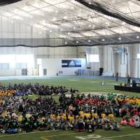 Closing Ceremonies in the Kelly Family Sports Center