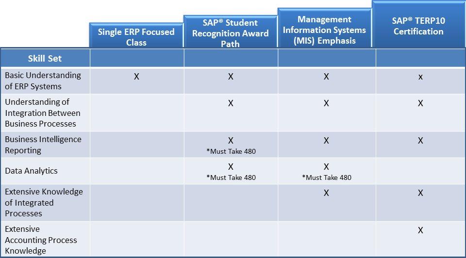 bi developer skills matrix