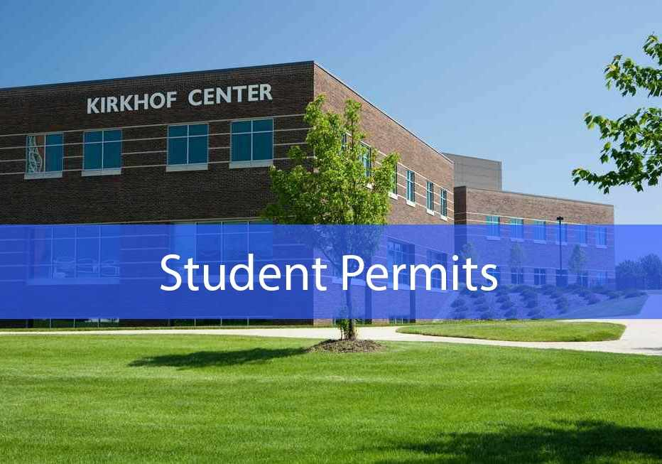 Click for Student Permits Information