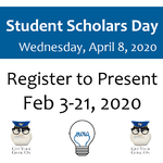 Register to Present Feb 3-21, 2020 on February 3, 2020