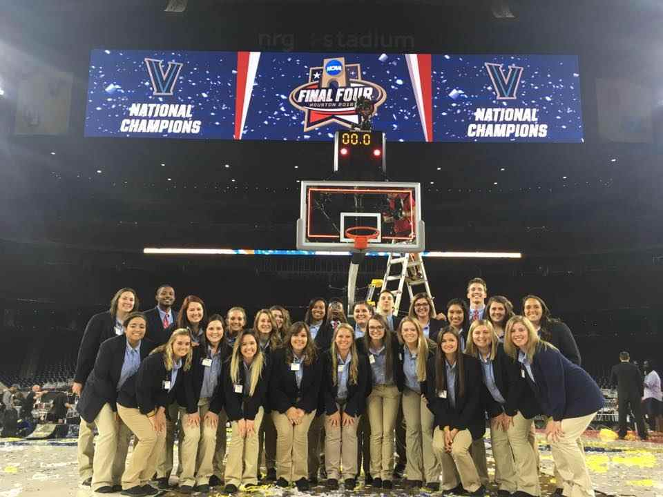 MPI Students at NCAA Final Four Tournament