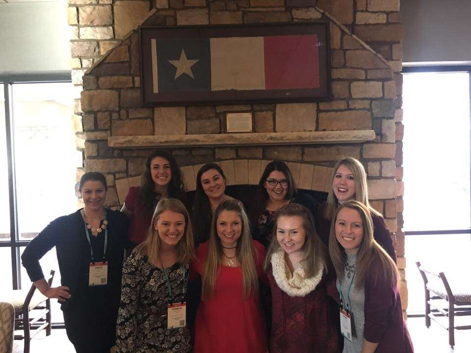 GVSU PCMA Students at Annual Conference