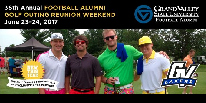 Football Golf Outing