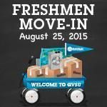 Freshmen Move-In: Volunteer Opportunity