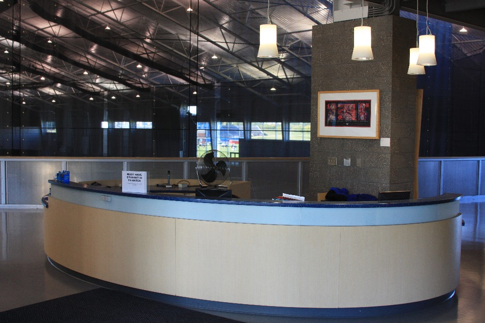 Kelly Family Sports Center Front Desk