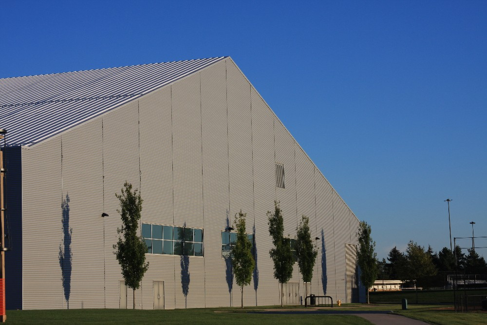 Kelly Family Sports Center Outside View