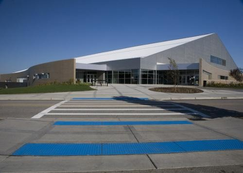 Kelly Family Sports Center Main Entrance