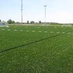Outdoor Turf Fields corner view