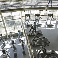 Cardio aerial view