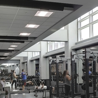 Weight room side view