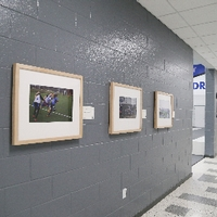 hallway by courts 6-8