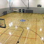 Basketball Court view from rafter