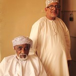 Gabri Patti photo of two men in white