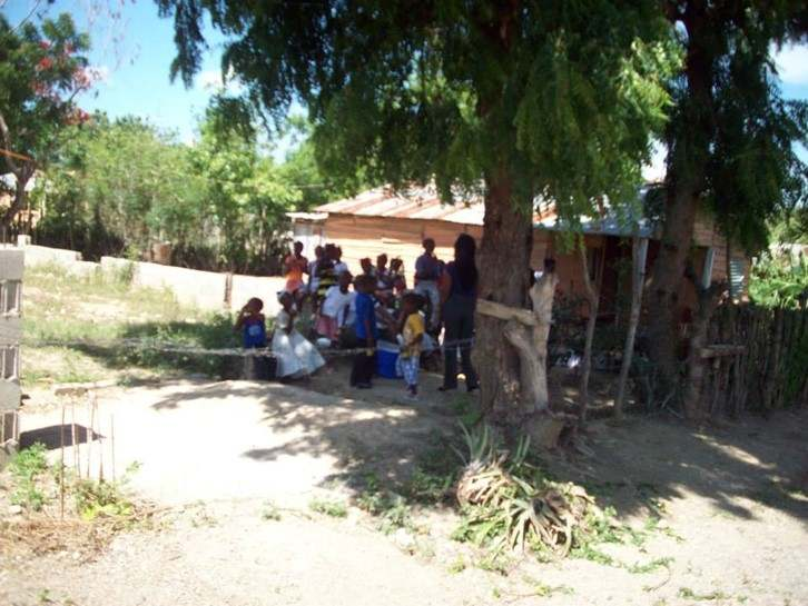 My first day in Navarrete. Meeting the kids and getting to know their situation. July 2013