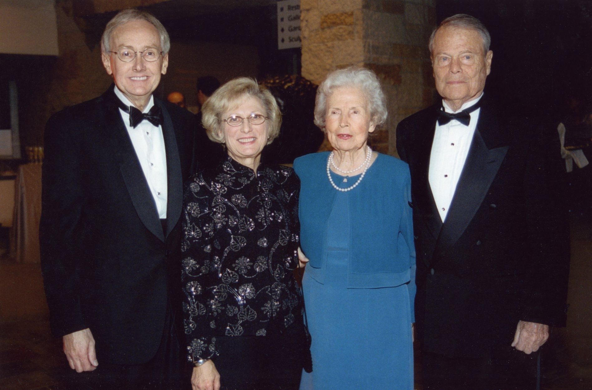 Ralph and Grace Hauenstein with friends