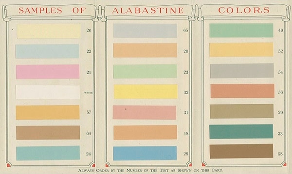 View the Alabastine Company collection finding aid