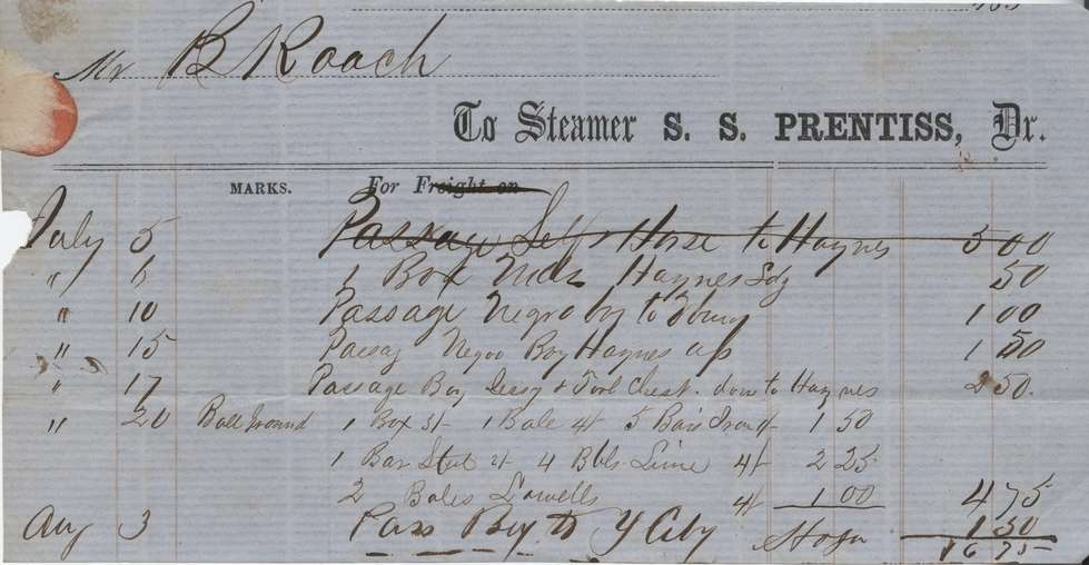 Civil War and slavery documents