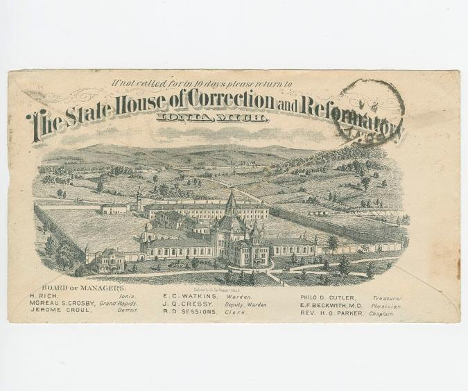 View the Ionia County Postal History Collection finding aid