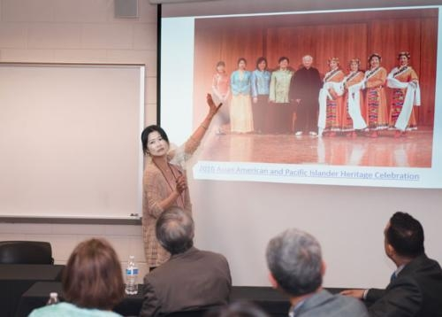 Sociology Professor Yan Yu Took Part in a Celebration of a Decade-Long Partnership with the Grand Rapids Chinese Language School