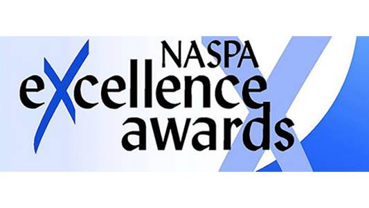 NASPA 2019 gold Excellence Award for Civic Learning and Democratic Engagement