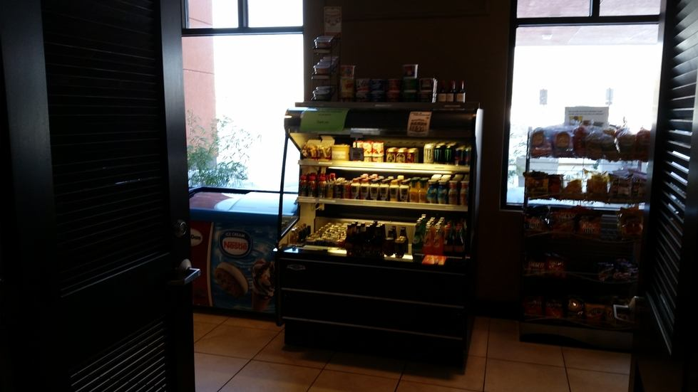 Holiday Inn snack shop