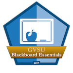 eLearning - Blackboard Essentials Badge