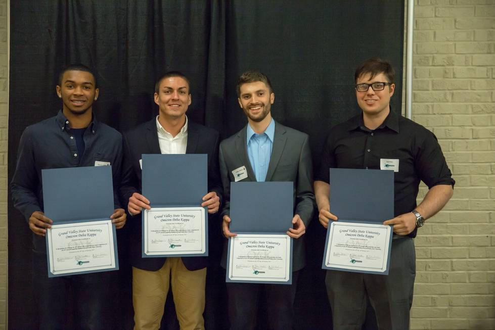 Recipients of Omicron Delta Kappa Leadership Case Study Competition
