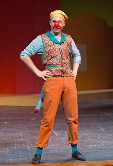 Jake Jager as Dromio of Syracuse