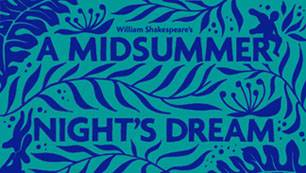 A Midsummer Night's Dream graphic design text