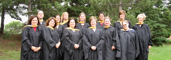 Grand Valley School of Social Work - 2008 Cohort from Sault Ste. Marie, Michigan