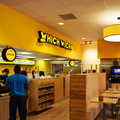 Which Wich ordering station
