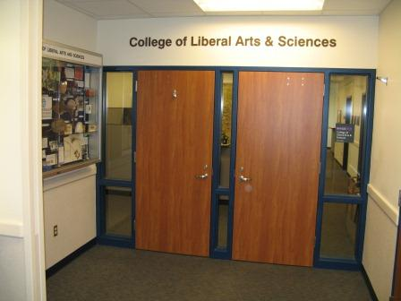 CLAS Dean's Office entrance