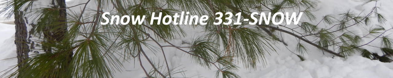 Snow Hotline 331-SNOW