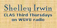 Shelley Irwin - CLAS Third Thursdays on WGVU Radio