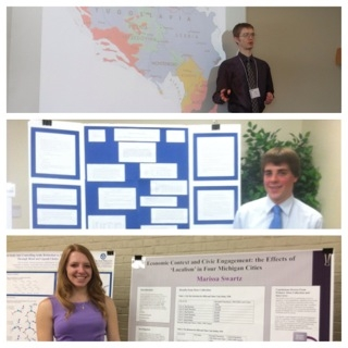 PLS Students Present at Student Scholars Day 2014