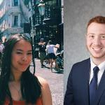 Beyerlein and Mattler Named Batchelder Scholars for 2019-2020