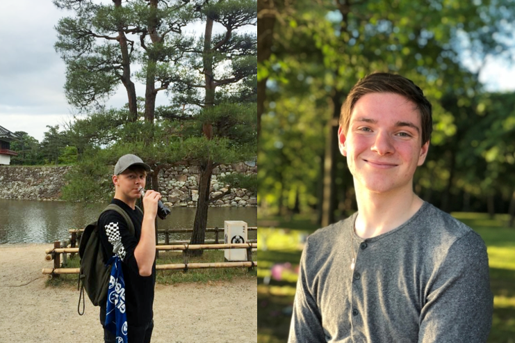 Emmons and Coulter win the Zeeb IR Study Abroad Scholarships for 2019