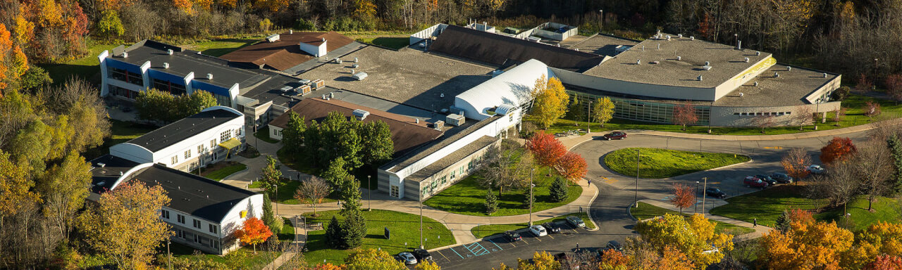 Calder Arts Center - Aerial View
