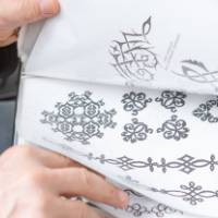 Book of design illustrations for henna tattoos.