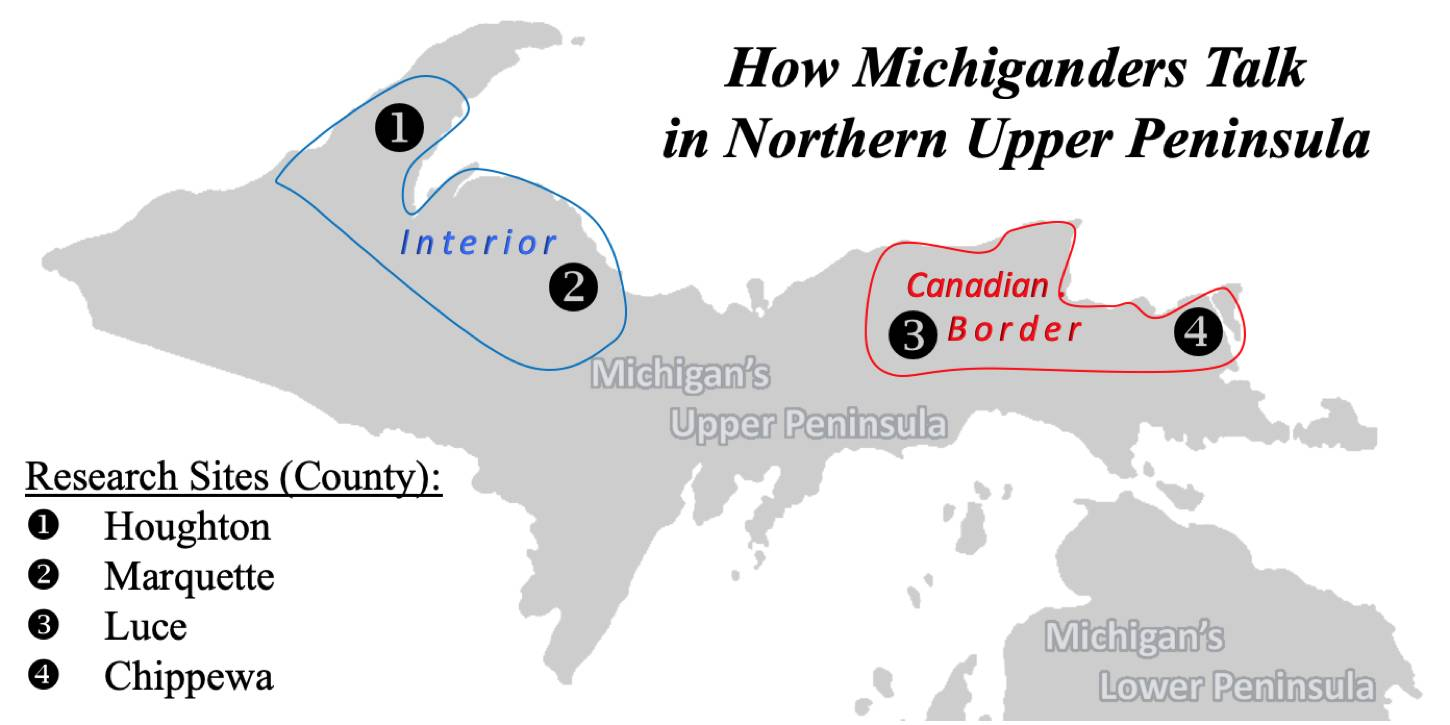 The Northern U.P. Talk Study