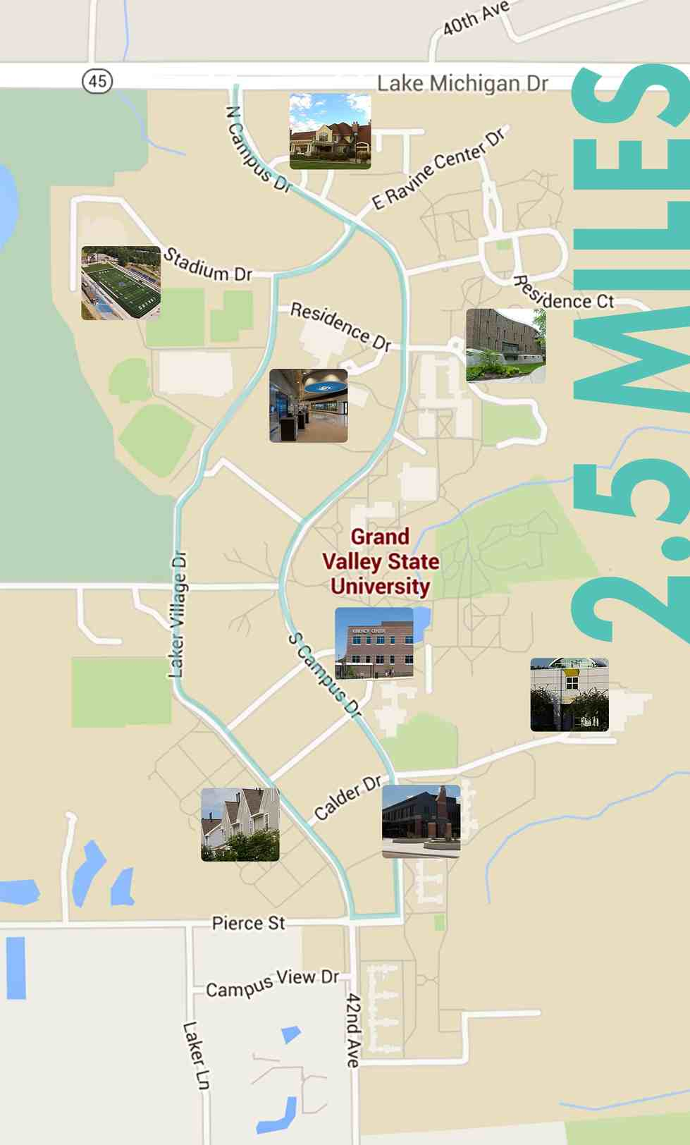 Biking And Walking Routes Health Wellness Grand Valley State
